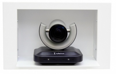 IN-Wall Enclosure for Videoconferencing Cameras Встраиваемая в стену полка для камер LifeSize HD, CISCO Precision HD, Polycom EagleEye IN-Wall EglEye, PrecHD, LfSz / 999-2225-015